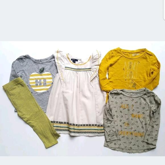 f99df69e3f18 GAP Other - Baby Gap Avian Flight Girls Lot Dress Top Leggings